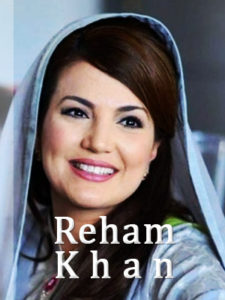 Ex-Wife of Imran Khan, Reham Khan Book Published